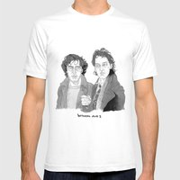 Withnail And I Mens Fitted Tee White SMALL