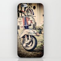 Vintage Moped iPhone & iPod Skin