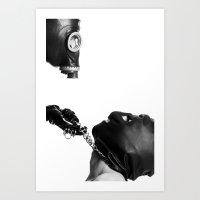 Posthuman fetish Art Print