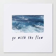 Oahu: Go With The Flow Canvas Print