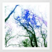 Tree Abstract 1 Art Print