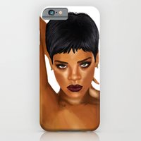 iPhone & iPod Case featuring Rihanna Unapologetic by Hileeery