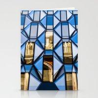 Geometric Glass  Stationery Cards