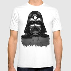 Vader Vinyl Mens Fitted Tee White SMALL