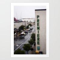 Fuzzy Premiere  Art Print