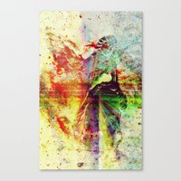 Even The Heavenly Falter Canvas Print