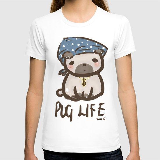 'Pug Life' T-shirt