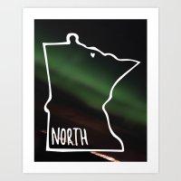 We Are North 2 Art Print