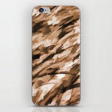 Camo - Beige on Beige iPhone & iPod Skin