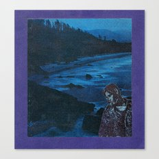 Blue, blue boy Canvas Print