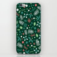 Have A Holly Jolly Chris… iPhone & iPod Skin