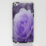 Lavender Rose 2 iPhone & iPod Skin