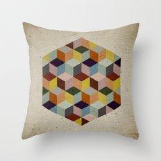 Dimension Throw Pillow