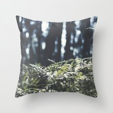 where the trees still whisper Throw Pillow