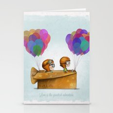 UP Pixar— Love is the greatest adventure  Stationery Cards