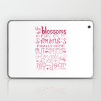 The Blossoms Are Out Laptop & iPad Skin