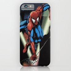 Gritty Spidey Swing iPhone 6s Slim Case