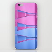 Refracted Wine Glasses  iPhone & iPod Skin