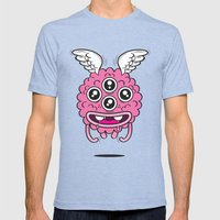 All eyes on you Mens Fitted Tee Tri-Blue SMALL
