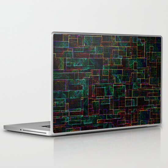 Matrix Laptop & iPad Skin