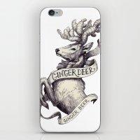 Ginger Deer iPhone & iPod Skin