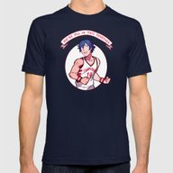 T-shirt featuring Chrom On And Slam by Blue