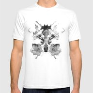 Rorschach Mens Fitted Tee White SMALL