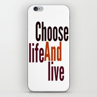 Live iPhone & iPod Skin