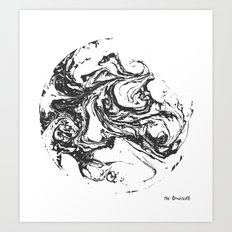 Swirling World V.2 Art Print
