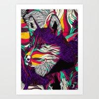 Color Husky (Feat. Bryan… Art Print