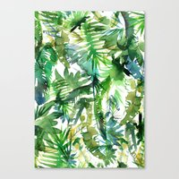 VIBE Of The Jungle  {A-g… Canvas Print
