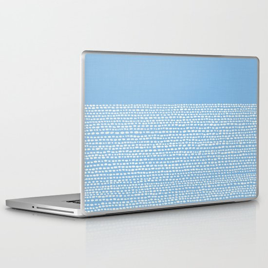 Riverside - Placid Blue Laptop & iPad Skin