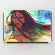 iPad Case featuring The Wind... by Alice X. Zhang