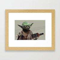 One For My Homies Framed Art Print