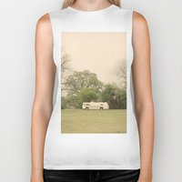 Lost In The Trees::austi… Biker Tank