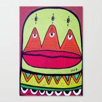 minor fuss Canvas Print