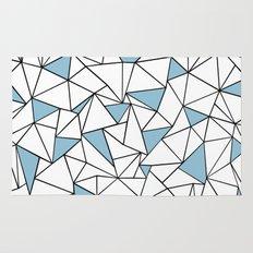 Ab Out Blue Blocks Rug