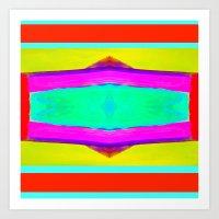 Marina III - Abstract Painting Art Print