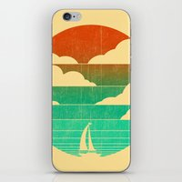 Go West (sail away in my boat) iPhone & iPod Skin