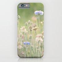 Pink & Blue Meadow iPhone 6 Slim Case