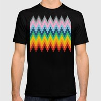 Brick Steps Mens Fitted Tee Black SMALL