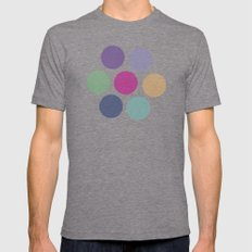 pattern 3 Mens Fitted Tee Tri-Grey SMALL