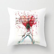 The Song Unheard Throw Pillow