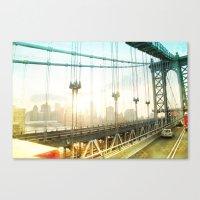 New York Rising _ Manhat… Canvas Print