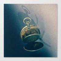 Clock 2 Canvas Print