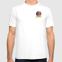 The Rhyme Impersonator S… Mens Fitted Tee White SMALL