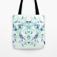 Kaleidoscopic print illustration  Tote Bag