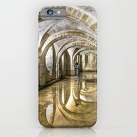 iPhone & iPod Case featuring Winchester Cathedral Crypt by Alice Gosling