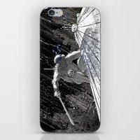 Black and White Ninja Turtle Leonardo iPhone & iPod Skin