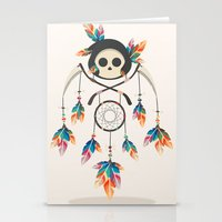 Angel de la Muerte Stationery Cards